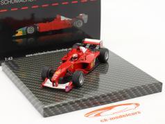 M. Schumacher Ferrari F1-2000 #3 勝者 ヨーロッパ人 GP 方式 1 世界チャンピオン 2000 1:43 Ixo