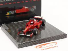 Michael Schumacher Ferrari F300 #3 vencedora francês GP Fórmula 1 1998 1:43 Ixo