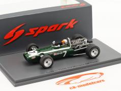 Lucien Bianchi Cooper T86B #7 3. Monaco GP formel 1 1968 1:43 Spark