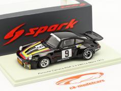 Porsche 911 Carrera RSR #9 24h LeMans 1975 Merello, Madera, Larrea 1:43 Fagulha