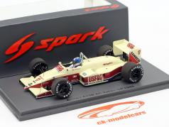 Derek Warwick Arrows A10B #17 4位 イタリアの GP 方式 1 1988 1:43 Spark