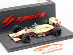 Derek Warwick Arrows A10B #17 4º italiano GP Fórmula 1 1988 1:43 Spark