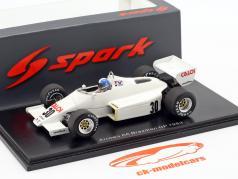 Chico Serra Arrows A6 #30 brasileiro GP Fórmula 1 1983 1:43 Spark