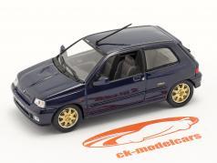Renault Clio Williams bouwjaar 1996 donkerblauw 1:43 Norev