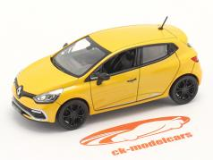 Renault Clio IV RS year 2012 yellow 1:43 Norev