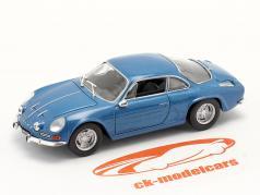 Renault Alpine A110 year 1969 blue metallic 1:43 Norev