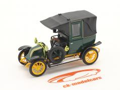 Renault Type AG 建設年 1905-1914 緑 / 黒 / 黄 1:43 Norev