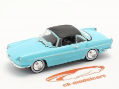 Renault Floride Année de construction 1959 Bleu clair 1:43 Norev