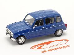Renault 4 (R4) bouwjaar 1961 blauw 1:43 Norev