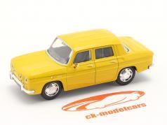 Renault 8 (R8) Byggeår 1962 gul 1:43 Norev
