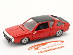 Renault 17 (R17) 建設年 1971-1979 赤 / 黒 1:43 Norev