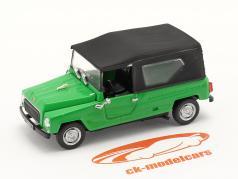 Renault Rodeo Année de construction 1975 vert / le noir 1:43 Norev