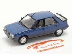 Renault 11 (R11) Anno di costruzione 1981 blu scuro / Nero 1:43 Norev