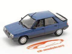 Renault 11 (R11) Año de construcción 1981 azul oscuro / negro 1:43 Norev
