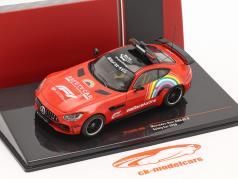 Mercedes-Benz AMG GT-R Safety Car Toscana GP Fórmula 1 2020 1:43 Ixo