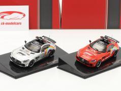 2-Car Set: Mercedes-Benz AMG GT-R Safety Car formel 1 2020 1:43 Ixo