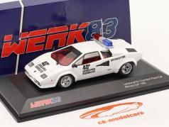 Lamborghini Countach Safety Car Monaco GP 方式 1 1982 1:43 Werk83