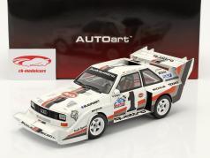 Audi Sport quattro S1 E2 #1 Winnaar Pikes Peak 1987 Walter Röhrl 1:18 AUTOart