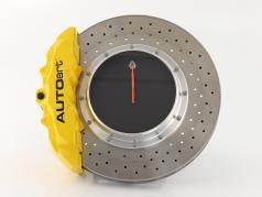 Disco de freio de corrida Relógio de mesa AUTOart