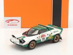 Lancia Stratos HF #11 Winnaar Rallye San Remo 1975 Waldegard,Thorszelius 1:18 Ixo