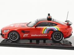 Mercedes-Benz AMG GT-R Safety Car トスカーナ GP 方式 1 2020 1:43 Ixo