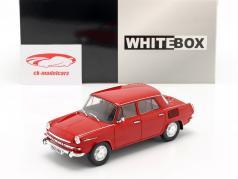 Skoda 1000 MB rojo 1:24 WhiteBox