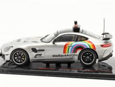 Mercedes-Benz AMG GT-R Safety Car 方式 1 2020 1:43 Ixo
