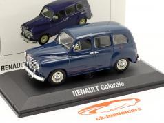 Renault Colorale 建設年 1950-1957 濃紺 1:43 Norev