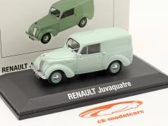 Renault Juvaquatre 建設年 1937 ミントグリーン 1:43 Norev