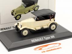 Renault 6CV Type NN Torpedo 建設年 1925 クリーム 白い / 黒 1:43 Norev