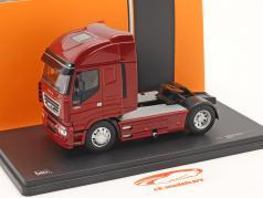 Iveco Stralis year 2012 red metallic 1:43 Ixo