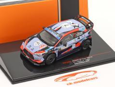 Hyundai i20 Coupe WRC #7 Rallye サルデーニャ 2020 Loubet, Landais 1:43 Ixo