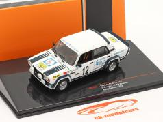 Lada VAZ 2105 VFTS #12 Rallye スウェーデン 1983 Brundza, Girdauskas 1:43 Ixo