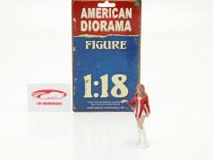 Race Day serie 2  figur #5  1:18 American Diorama