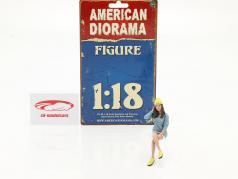 Car Meet Series 1  figure #3  1:18 American Diorama