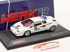 Lamborghini Countach Safety Car Monaco GP formula 1 1982 1:43 Werk83