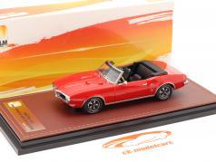 Pontiac Firebird 400 Open Cabrio bouwjaar 1968 rood 1:43 GLM