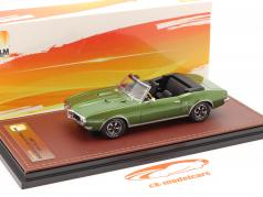 Pontiac Firebird 400 Open Cabrio bouwjaar 1968 groente metalen 1:43 GLM
