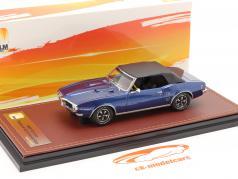 Pontiac Firebird 400 关闭 敞篷车 1968 深蓝 / 黑色的 1:43 GLM