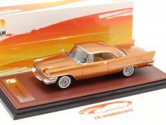 Chrysler 300C Hardtop Année de construction 1957 or métallique 1:43 GLM