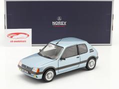 Peugeot 205 GTi 1.6 Année de construction 1988 topaze bleu 1:18 Norev