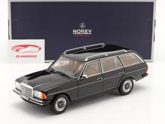 Mercedes-Benz 200 Modello a T (S123) Anno di costruzione 1982 Nero 1:18 Norev