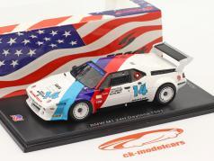 BMW M1 #14 勝者 GTO 24h Daytona 1981 Stuck, Gebhardt, Brun 1:43 Spark