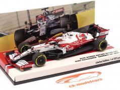 Kimi Räikkönen Alfa Romeo Racing C41 #7 バーレーン GP 方式 1 2021 1:43 Minichamps