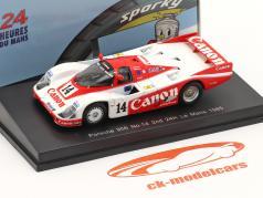 Porsche 956 #14 2. 24h LeMans 1985 Palmer, Weaver, Lloyd 1:64 Spark