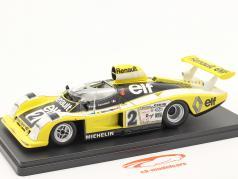 Renault Alpine A442B #2 winnaar 24h LeMans 1978 Pironi, Jaussaud 1:24 Hachette