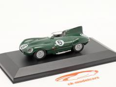 Jaguar D-Type #6 濃い緑色 1:43 Altaya