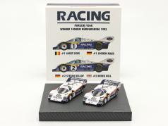 2 coches Set Porsche 956K #1 & #2 1000km Nürburgring 1983 1:43 Werk83