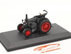 Lanz D 7506 Bulldog multiusos Año de construcción 1939 gris oscuro 1:43 Hachette