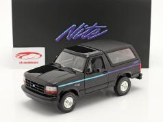Ford Bronco Nite Edition Byggeår 1992 sort 1:18 Greenlight
